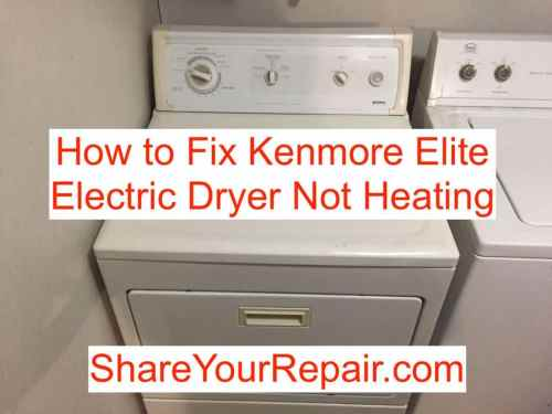 small resolution of photos of kenmore 80 series gas dryer not heating