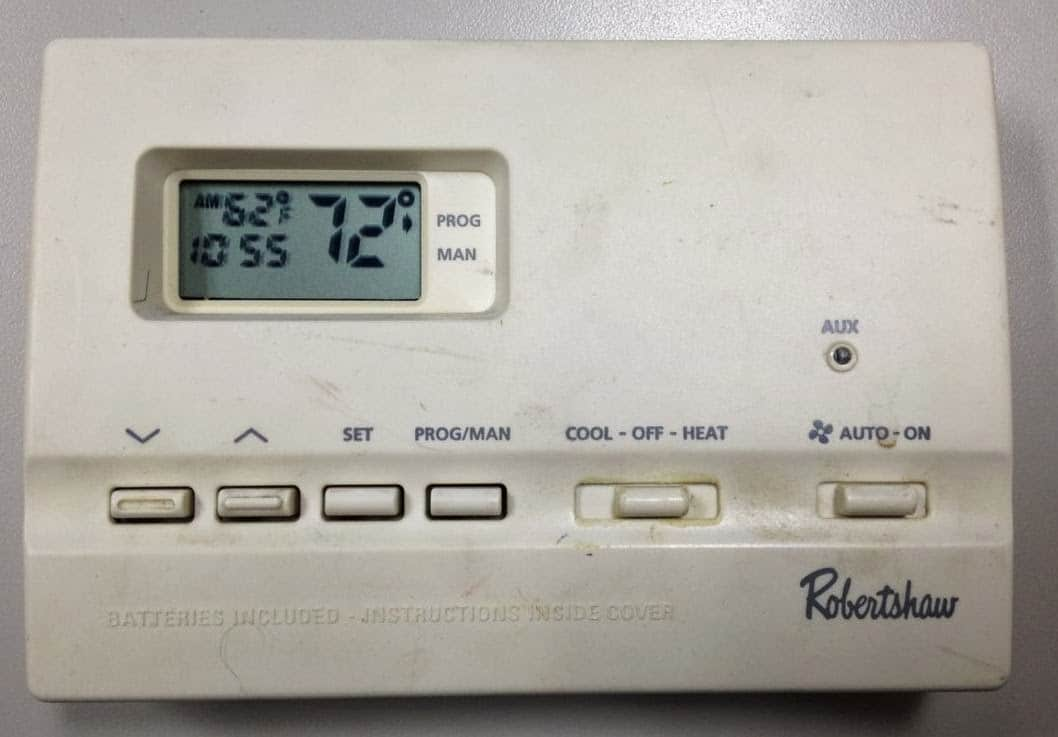 robertshaw thermostat wiring diagram 2 speed motor how to program a 9615 - share your repair