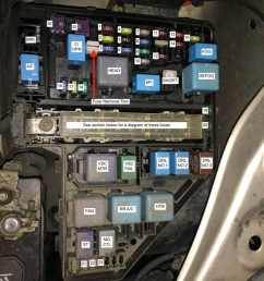 toyota sienna fuse locations share your repairengine compartment fuse box picture diagram [ 1170 x 878 Pixel ]