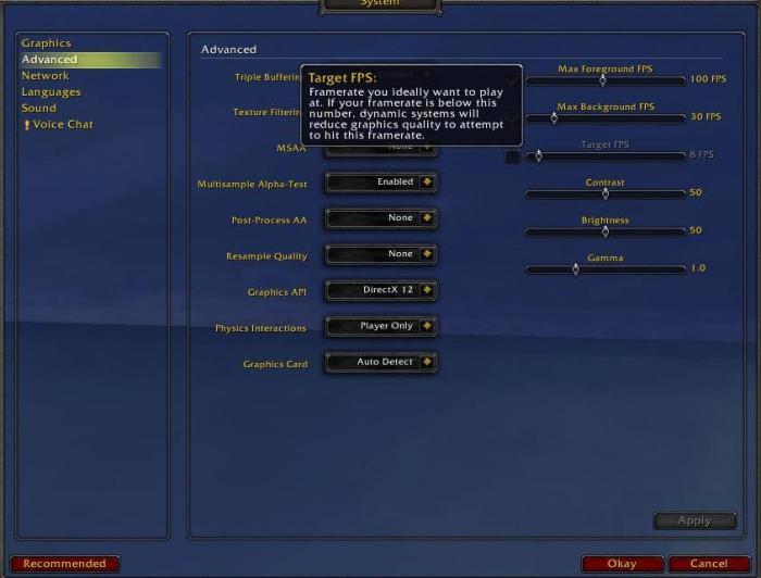 В World of Warcraft: Shadowlands появится опция динамической смены качества картинки и обновленный редактор персонажа