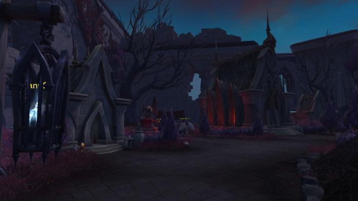 Новые скриншоты локации Ревендрет из World of Warcraft: Shadowlands