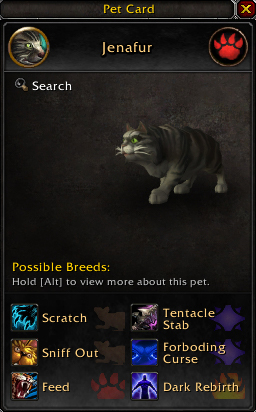 Как спустя год поисков в World of Warcraft нашли загадочную кошку Дженафур