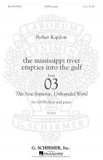 How we need the river sheet music by Terry MacAlmon