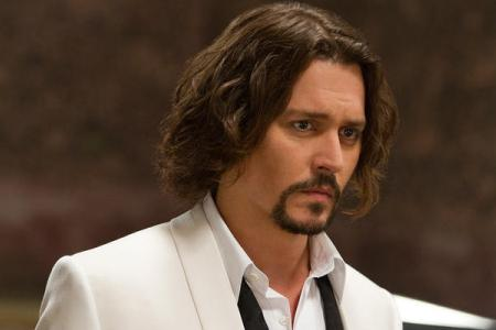 Johnny Depp in The Tourist. Depp's role in The Tourist wasn't supposed to be