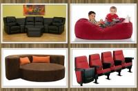 Media Rooms Seating | Interior Decorating