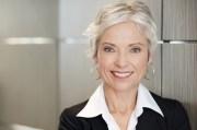 makeup women with gray hair