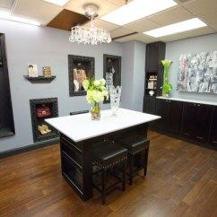 Center Island Kitchen Table Corner Cabinets Design Star Season 7: Kardashian Office Makeover