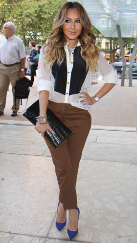 Fridays Fashion Obsessions Debby Ryan And Adrienne Bailon
