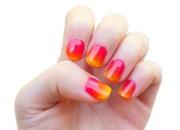 create ombre nail design