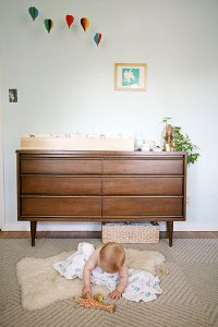 Hipster chic nursery designs