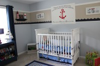 Nautical-themed nursery ideas