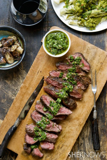 Amp up your beef with herbs