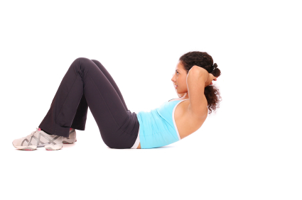Woman doing crunches | Sheknows.ca