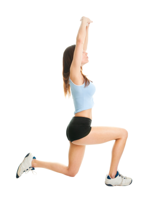Woman doing lunges   Sheknows.ca