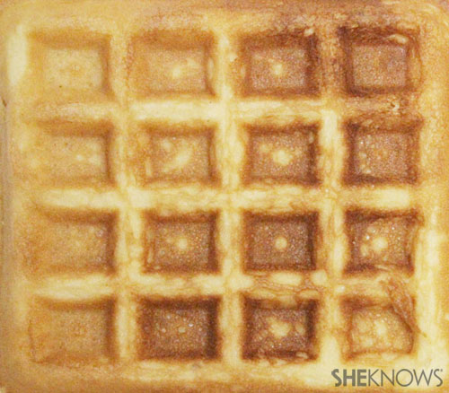 How to make a waffle postcard