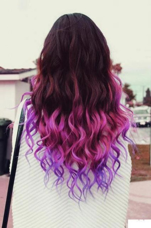 how to color your hair with chalk