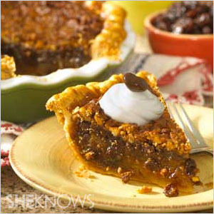Chocolate raisin pie | Sheknows.com