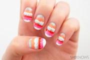 tutorial striped pop art
