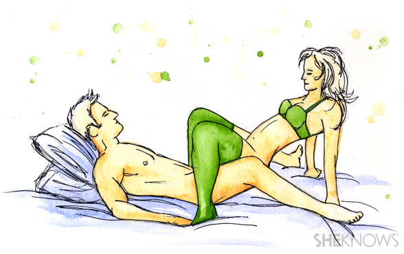 Sex positions where the girl is on top