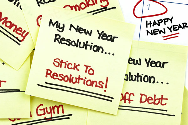 New year resolution to-do notes | Sheknows.ca