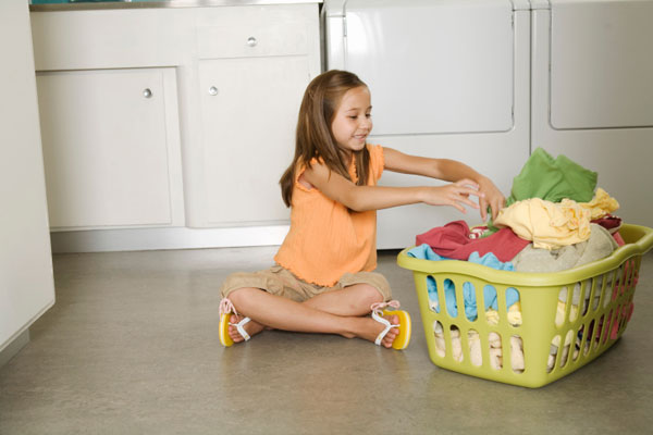 Image result for children doing laundry