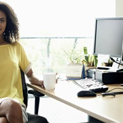 Woman Sitting In Chair Table High Argos 10 Ways To Counter The Effects Of All Day