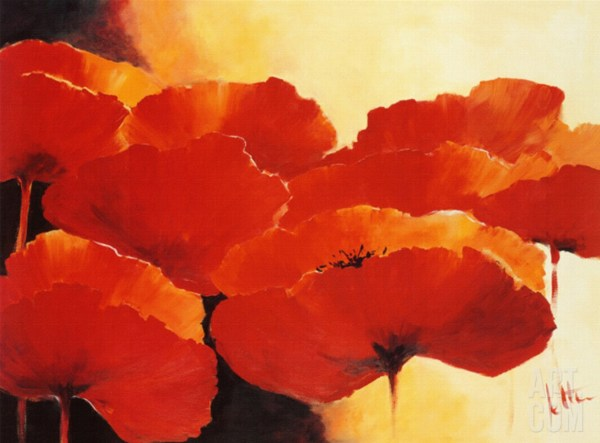 Beautiful Flowers by Famous Artists Paintings