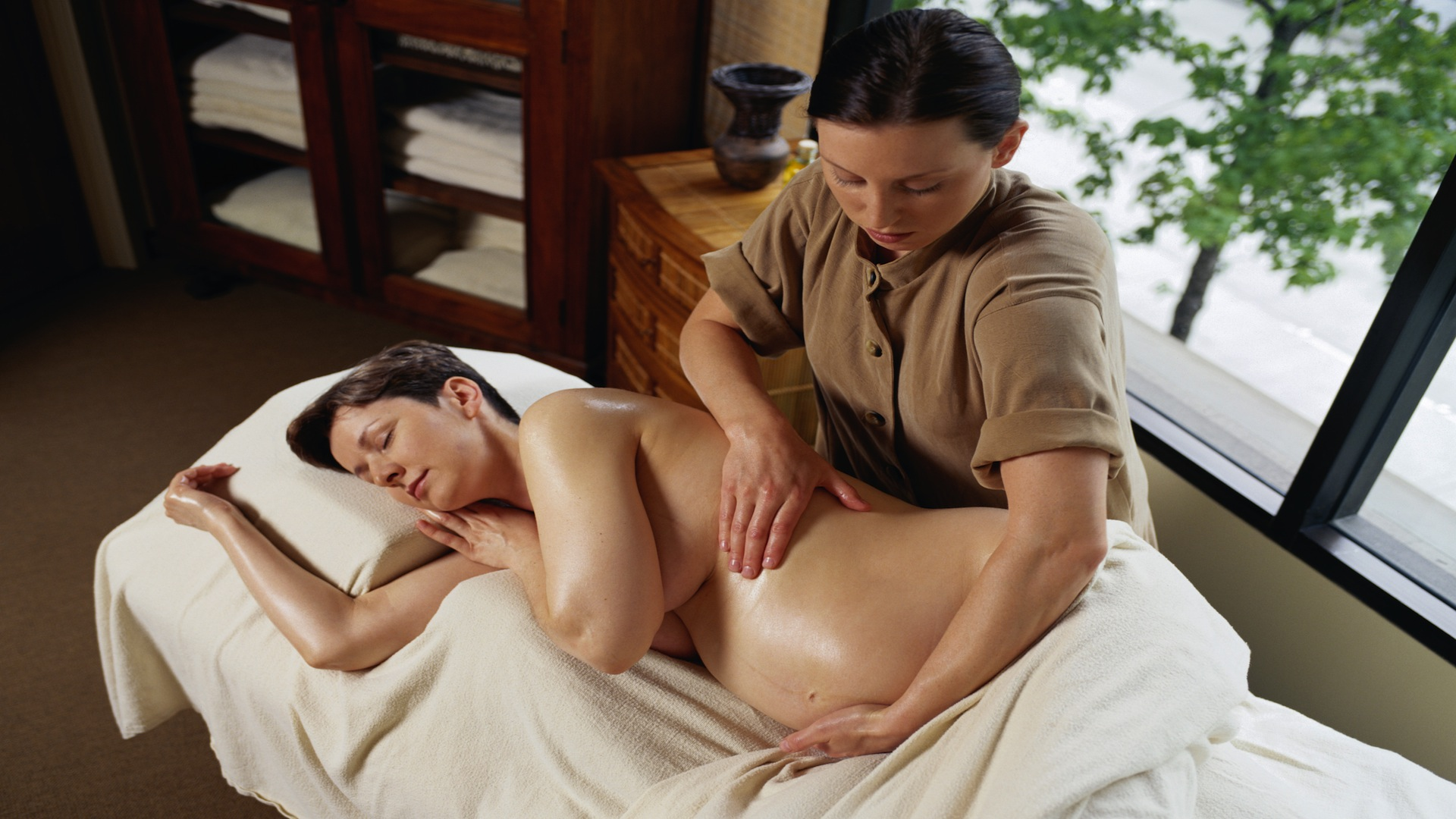 Getting A Massage While Pregnant  Hardcore Home Porn