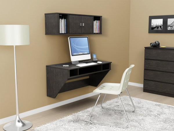 Wall-mounted Desks Perfect Small Spaces