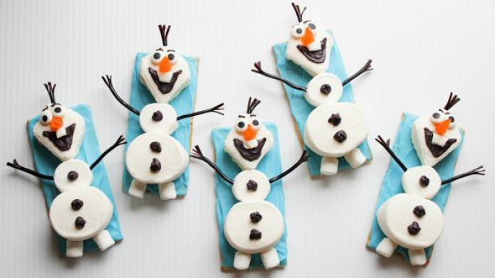 Olaf the snowman treats