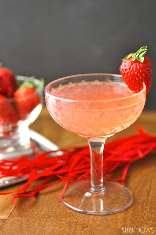 Valentines Day Martini Menu