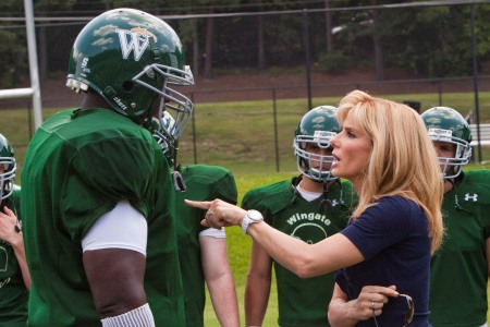 Sandra Bullock makes her point in Warner Bros' The Blind Side