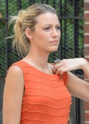 blake lively updo hairstyles