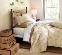 Bedroom decorating ideas : Go Green