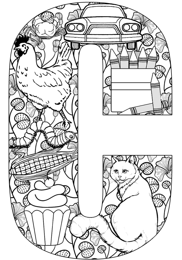 Printable letters: Letters activities: C