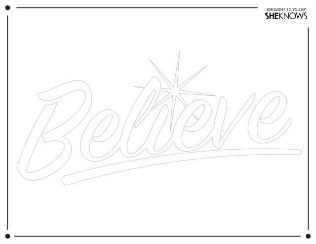 I Believe Coloring Page Coloring Pages