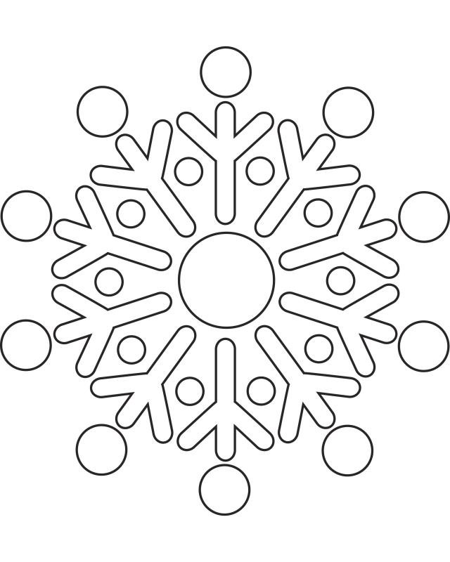 Printable Snowflake Pictures