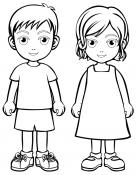 People & Family coloring pages