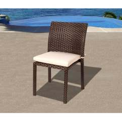 Stacking Resin Chairs X Rocker Gaming Chair Instructions Atlantic Liberty Wicker Patio Dining Side