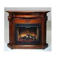 Hargrove Kensington Distressed Oak Mantel For Hargrove 35