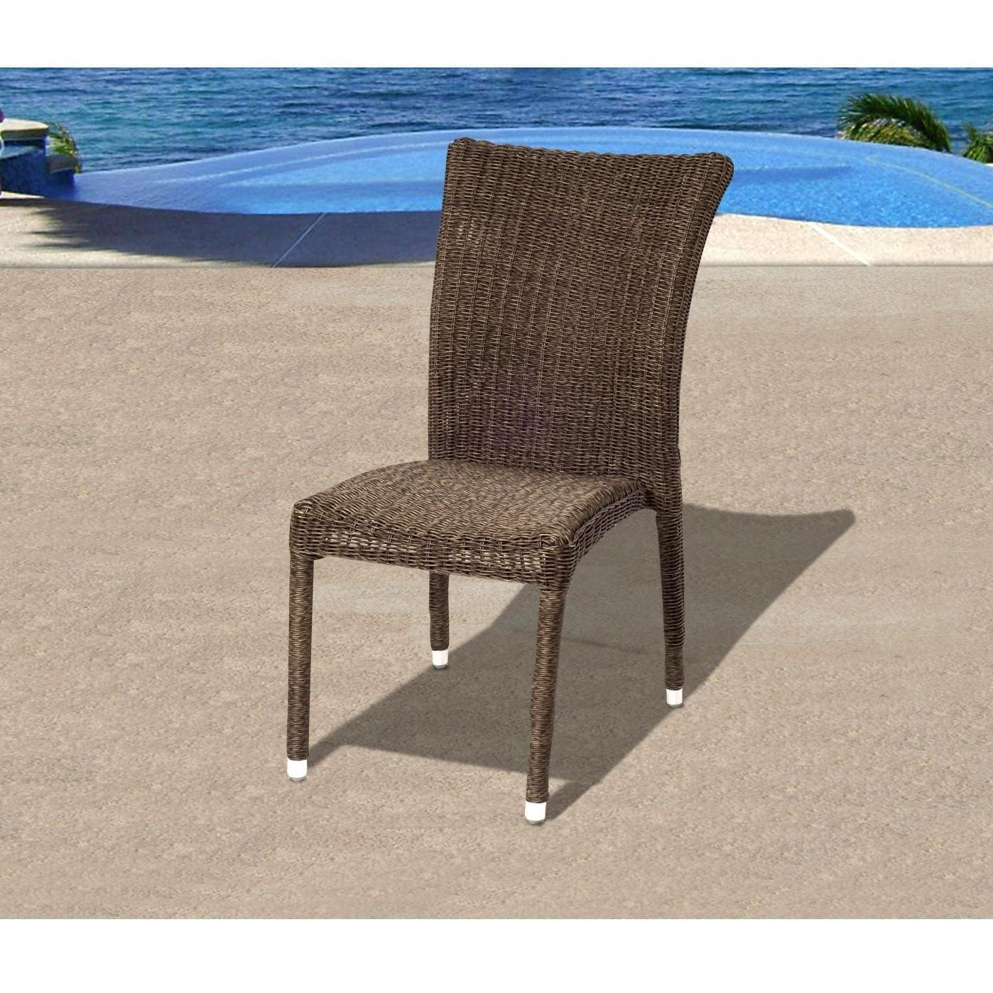 outdoor dining chairs stackable steelcase node chair atlantic bari resin wicker stacking patio side