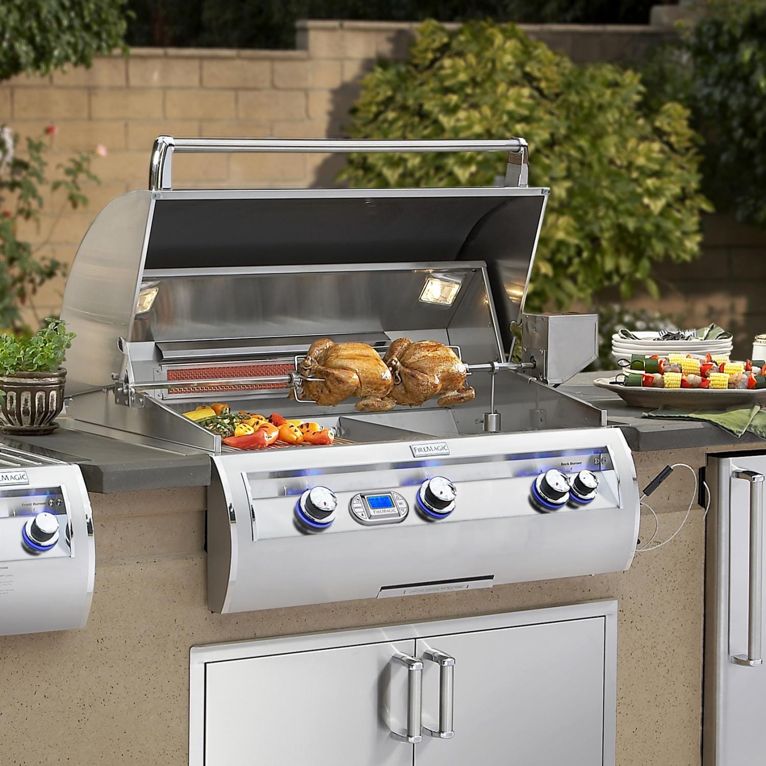 drop in grills for outdoor kitchens home depot kitchen countertops appliances kits bbq guys built