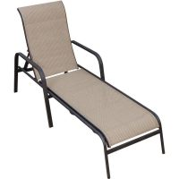 Madison Bay Sling Patio Chaise Lounge By Lakeview Outdoor