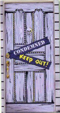 Spooky Door Decoration | horror-shop.com