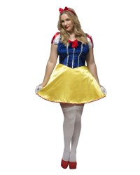 Snow White Costume Plus Size | Fetish Panel | horror-shop.com