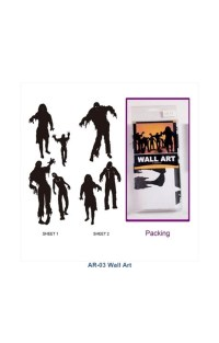 Zombie Wall Stickers | Creepy Horror Wall Decals | horror ...