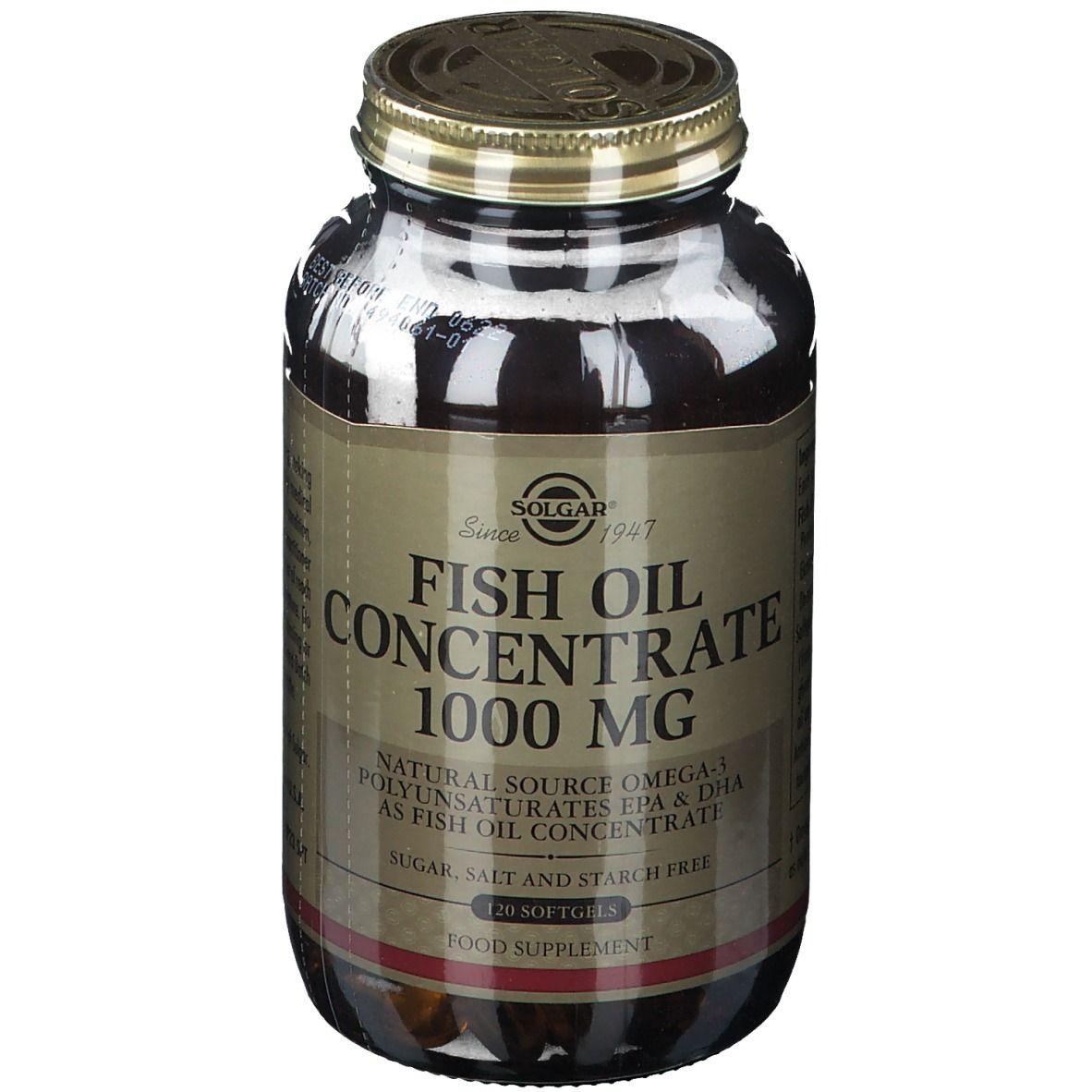 Solgar Fish Oil Concentrate 1000 mg - shop-apotheke.ch