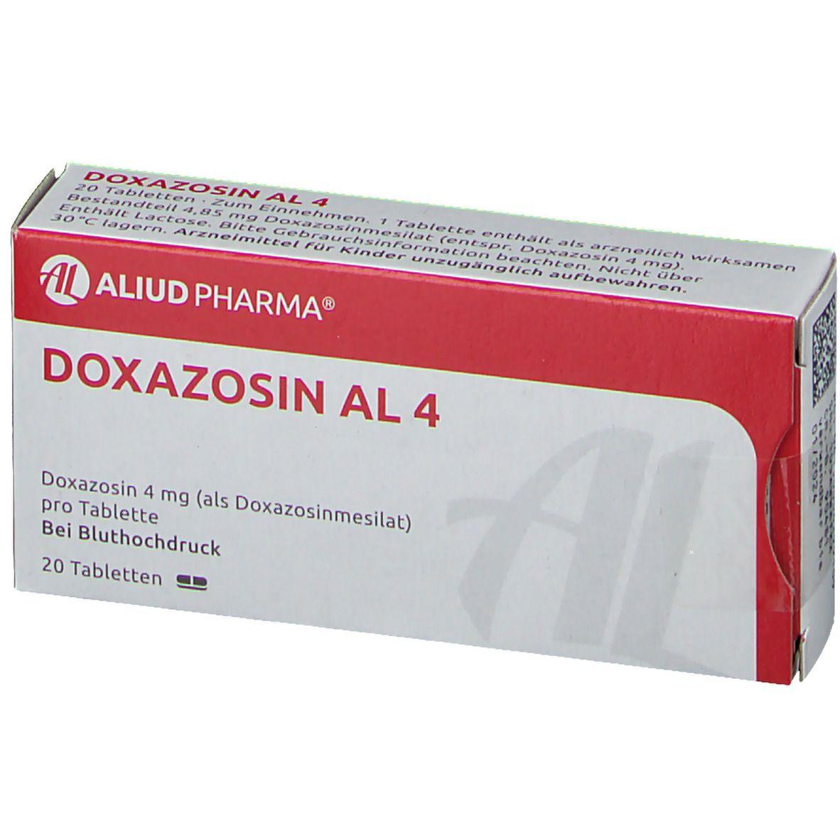 Doxazosin AL 4 20 St - shop-apotheke.com