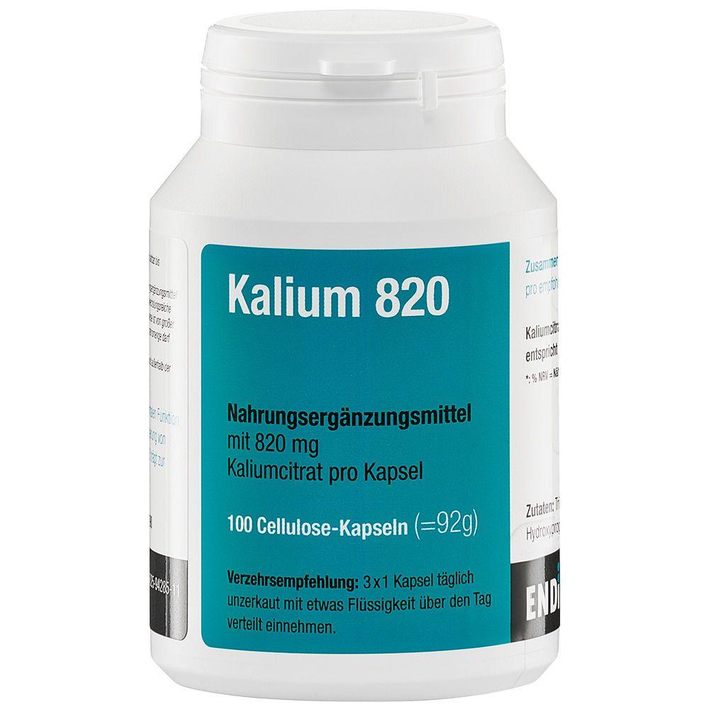 Endima® Kalium 820 Kapseln 100 St - shop-apotheke.com