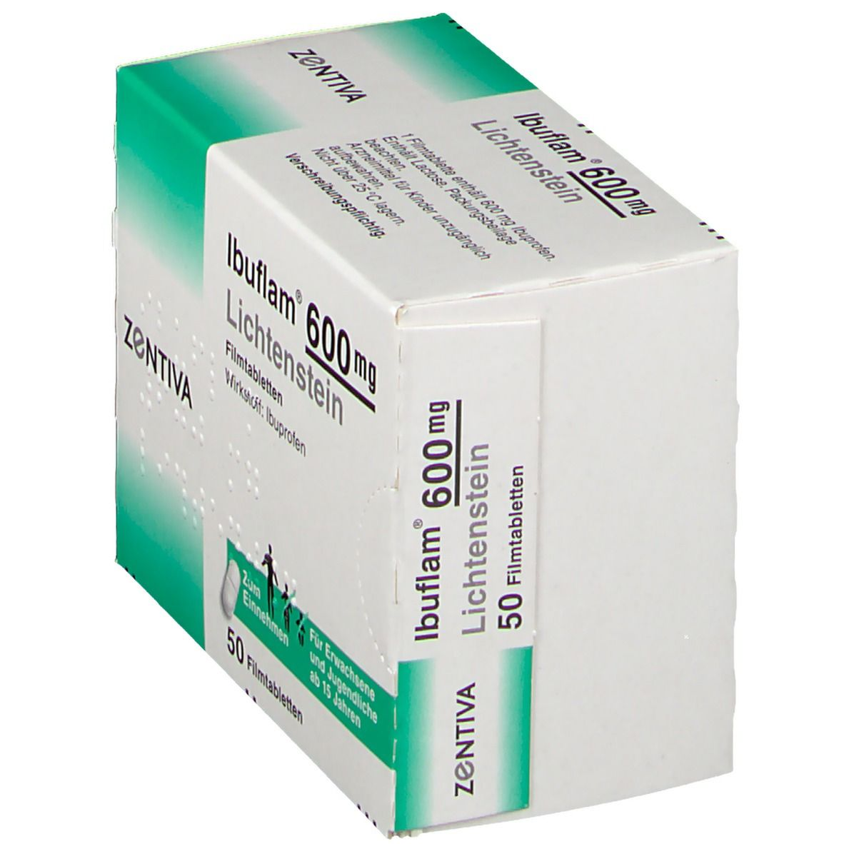 Ibuflam® 600 Lichtenstein Filmtabletten 50 St - shop ...
